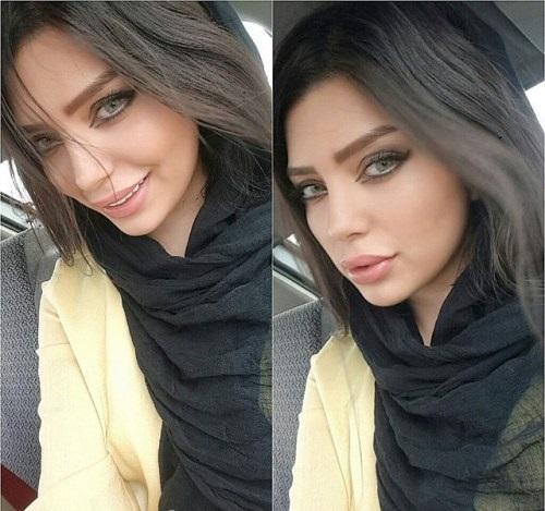 جدیدترین عکس نیلوفر بهبودی مدل ایرانی