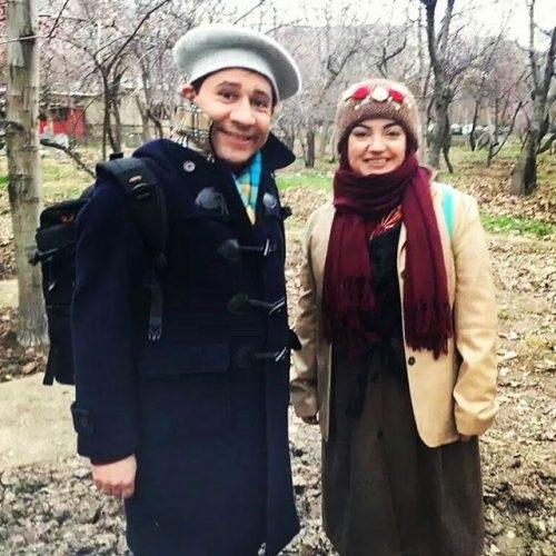 عکس سروش جمشیدی و همسرش