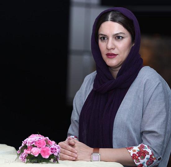 شایسته ایرانی در اکران فیلم فصل نرگس