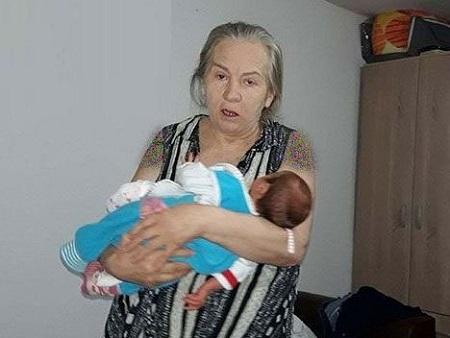بچه دار شدن زن 60 ساله