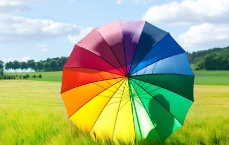 تاثیر انواع رنگ ها روی روحیه و روان ما