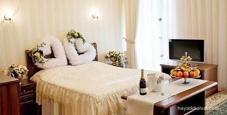 تزیین اتاق خواب عروس رومانتیک