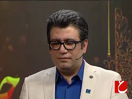 هيپنوتيزيم رضا رشيد پور در برنامه زنده