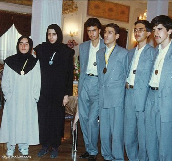 عکس قدیمی مریم میرزا خانی در زمان دانشجویی