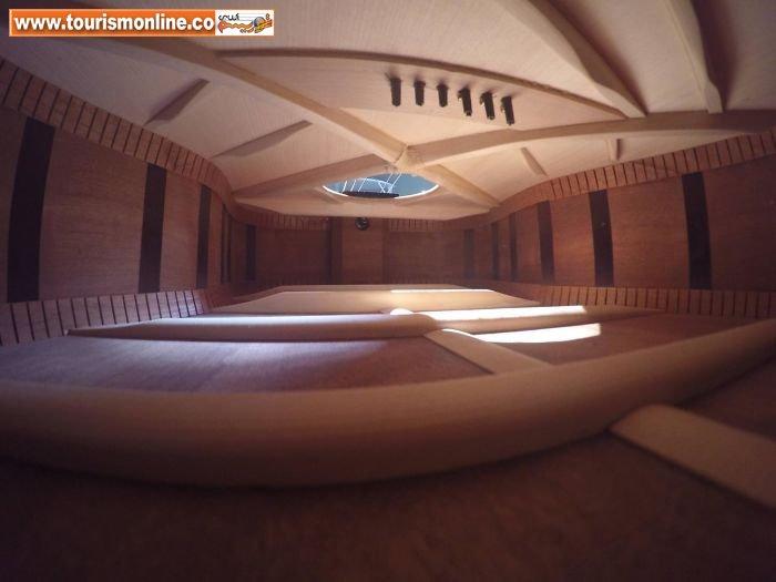 اینجا یک آپارتمان نیست بلکه فضای داخلی یک گیتار است!