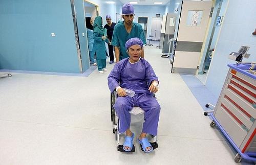 تصاویر جراحی زیبایی رودریگو آلوز مدل در جزیره کیش ایران