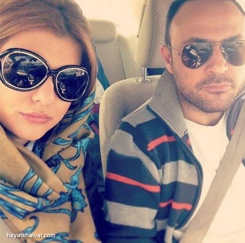 علیرضا مدنی و همسرش
