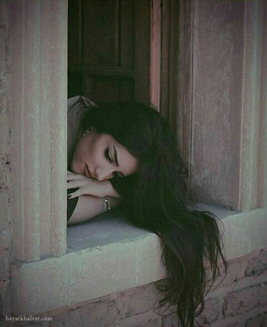 پروفایل دخترونه غمگین ، دختر غمگین