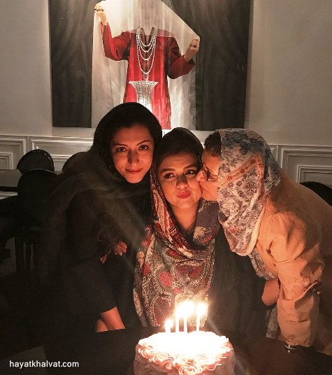 جشن تولد دنیا مدنی دختر رویا تیموریان