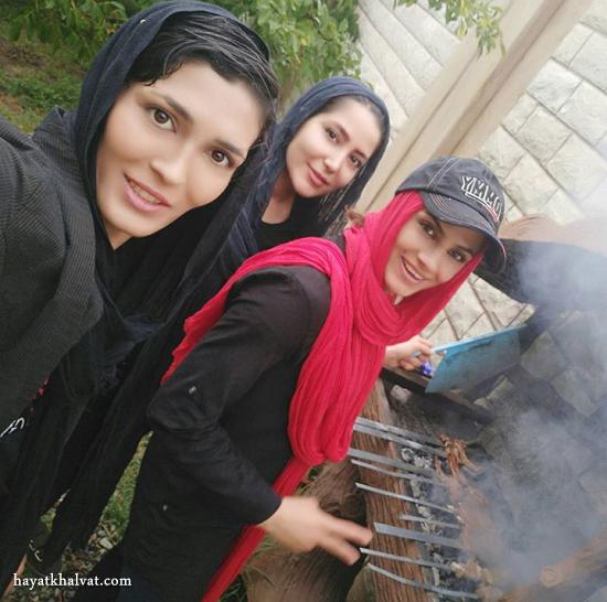 عکسهای الهه منصوریان ووشوکار ایرانی