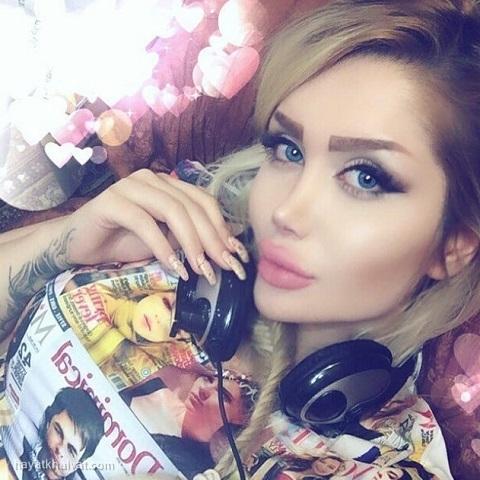 عکس های جدید انسیه رحیمیان مدل ایرانی در اینستاگرام