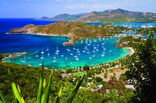 جزایر زیبای آنتیگوا و باربودا کجاست ؟