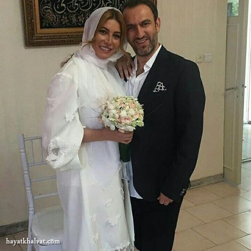 فریبا نادری و همسر جدیدش