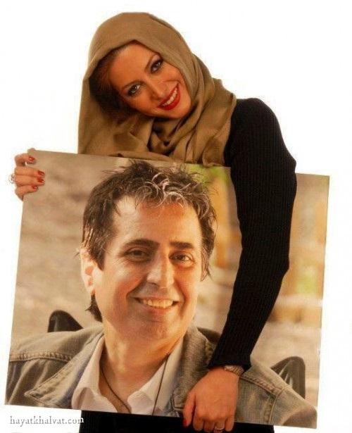 فریبا نادری و همسر اولش , فریبا نادری و مسعود رسام