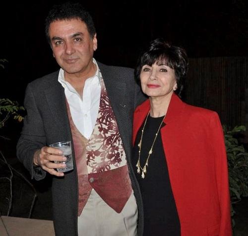 فیروز نادری و همسرش
