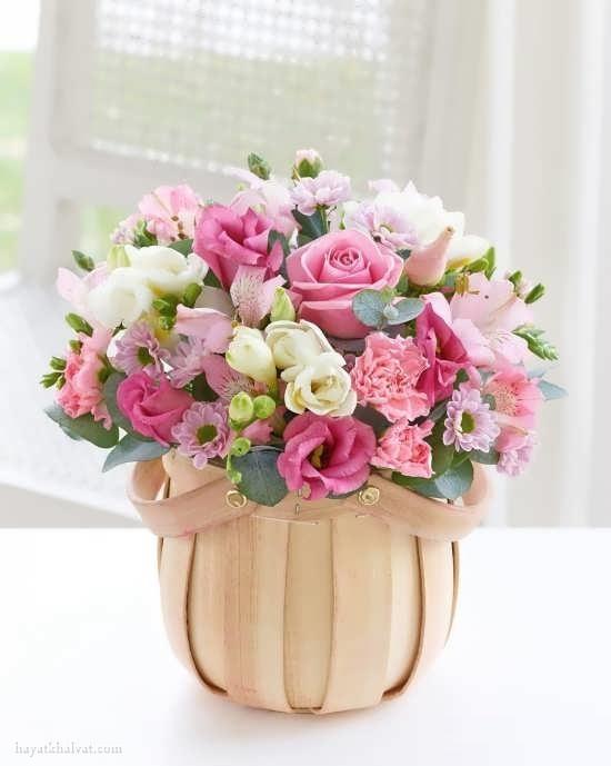 سبد گل زیبا , سبد گل فانتزی