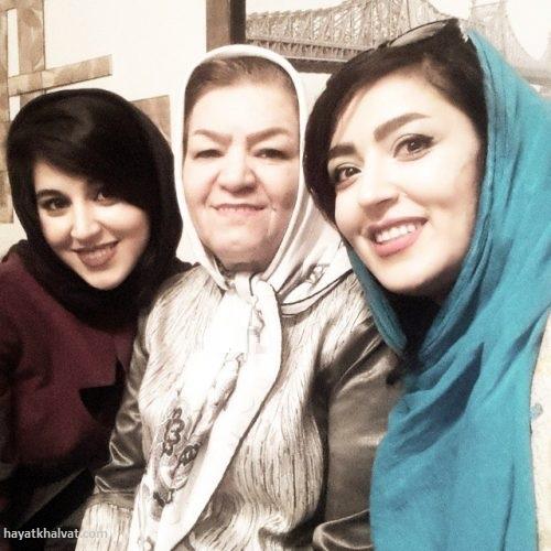 فریبا طالبی و مادر و خواهرش