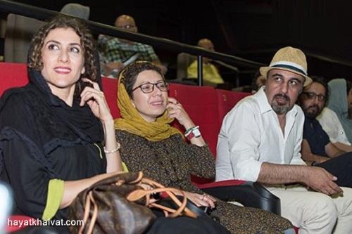 فریده فرامرزی همسر رضا عطاران در کنار ویشکا آسایش