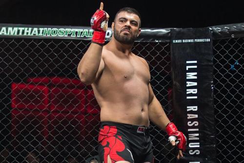 امیر علیاکبری نایب قهرمان مسابقات جهانی MMA
