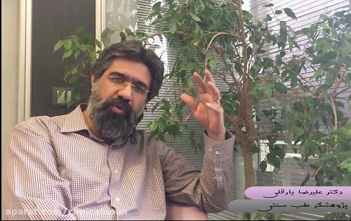 """توصیه های دکتر علیرضا یارقلی """"متخصص طب سنتی"""" در خندوانه"""