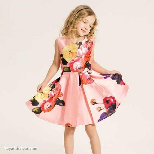 جدیدترین مدل لباس شیک بچگانه دخترانه