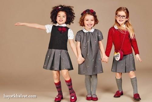 مدل لباس شیک بچگانه دخترانه