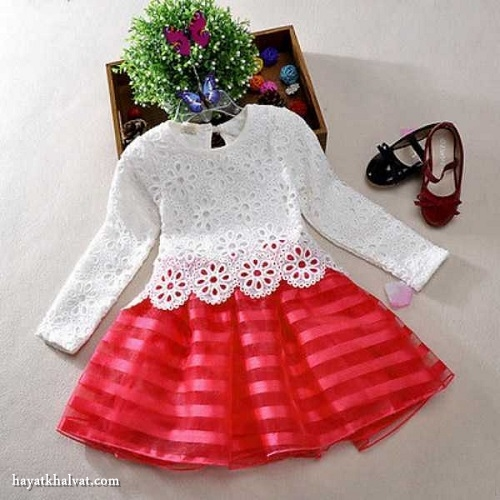 ست لباس شیک دخترونه