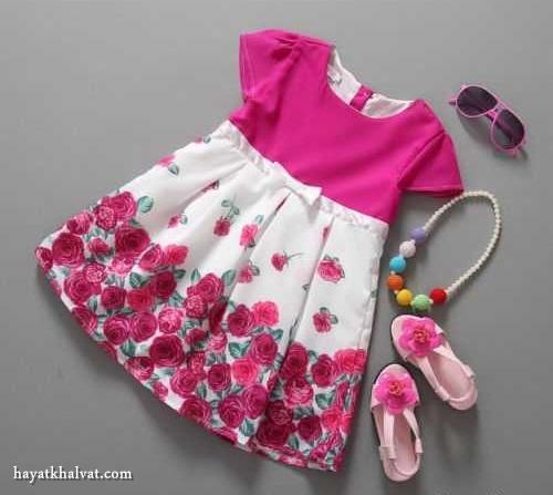لباس بچگانه زیبا دخترونه
