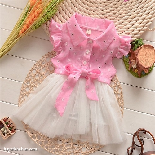 انواع مدل لباس دختر بچه شیک و زیبا