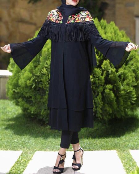 انواع مدل مانتو تابستانی دخترانه با طرح های شیک و جدید 96