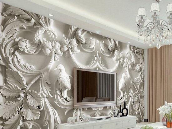 عکس کاغذ دیواری سه بعدی زیبا