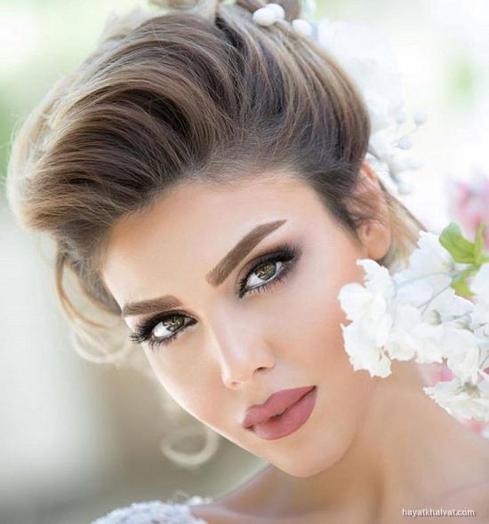 دانلود عکس آرایش عروس جدید