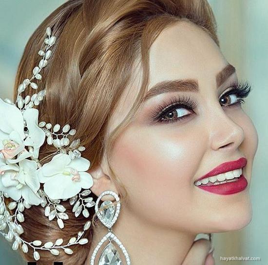 مدل های آرایش عروس جدید 2017
