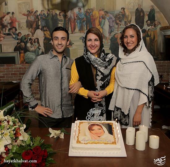 فاطمه گودرزی،جشن تولد فاطمه گودرزی