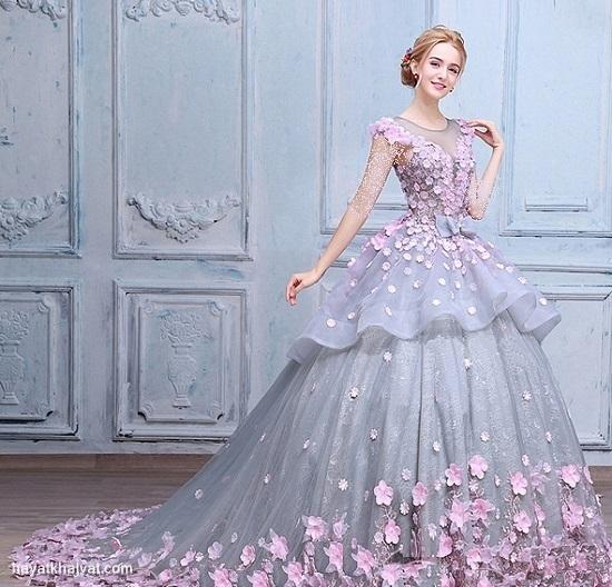 لباس نامزدی پرنسسی