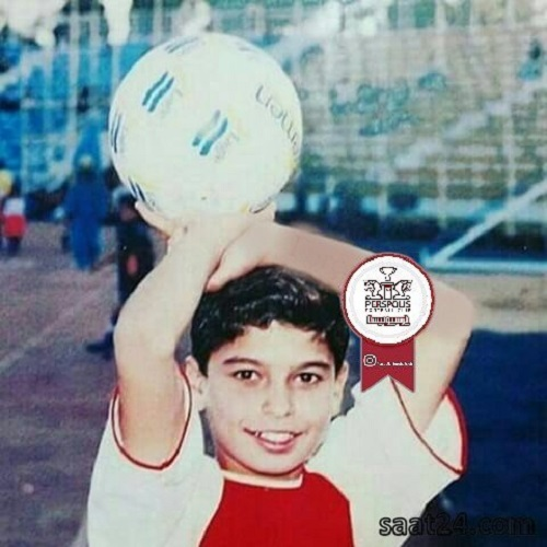 عکس کودکی سروش رفیعی