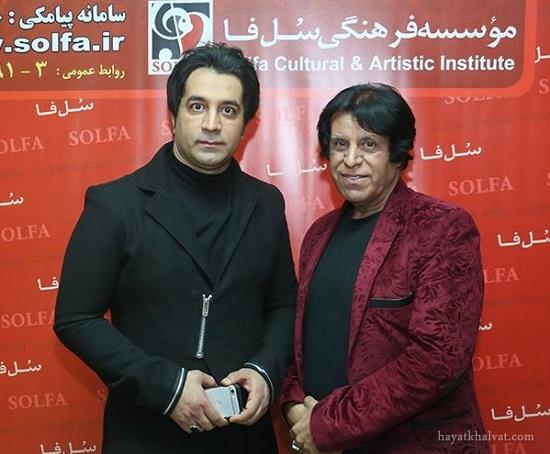 محمود جهان و پسرش امید
