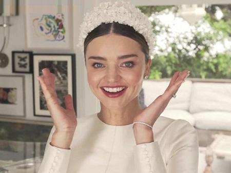 مدل آرایش عروس میراندا کر