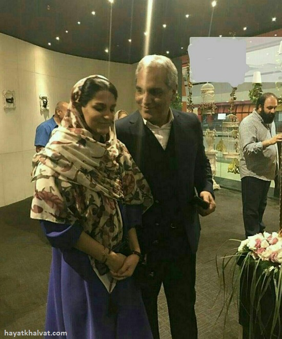 دختر مهران مدیری در اکران فیلم ساعت 5 عصر