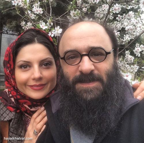 سولماز غنی و همسرشعلی رحیمی