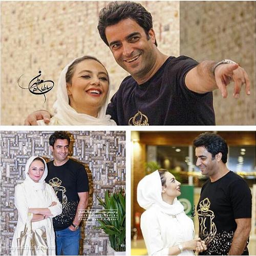 عکس عاشقانه منوچهر هادی و یکتا ناصر