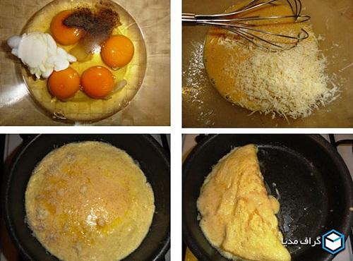 املت پنیر