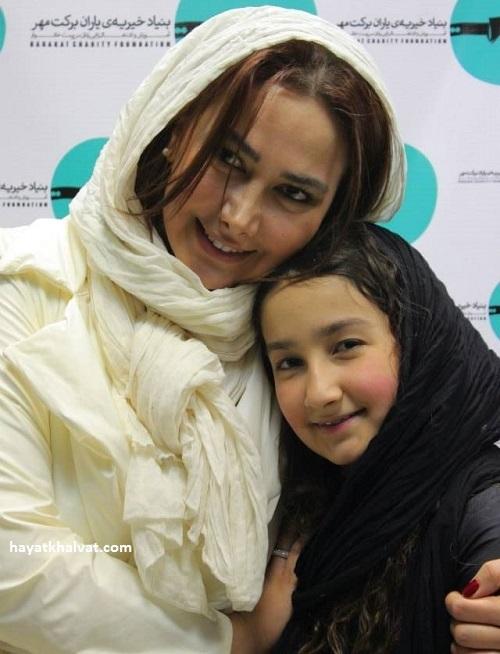 آناهیتا نعمتی و دخترش رایکا