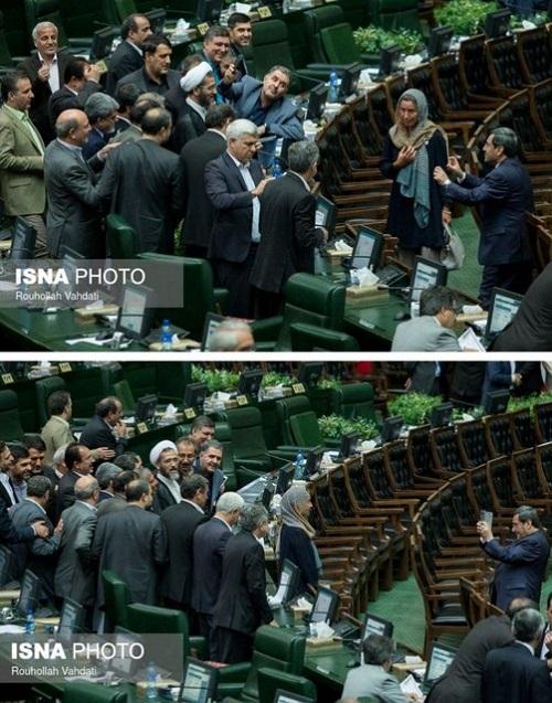 سلفی نمایندگان مجلس با موگرینی