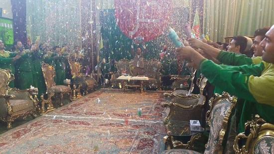 جشن تولد رئیس کارخانه چسب هل