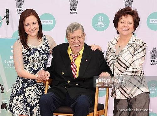 حری لوئیس و دخترش , جری لوئیس و همسر دومش