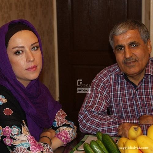لادن سلیمانی و همسرش , همسر لادن سلیمانی