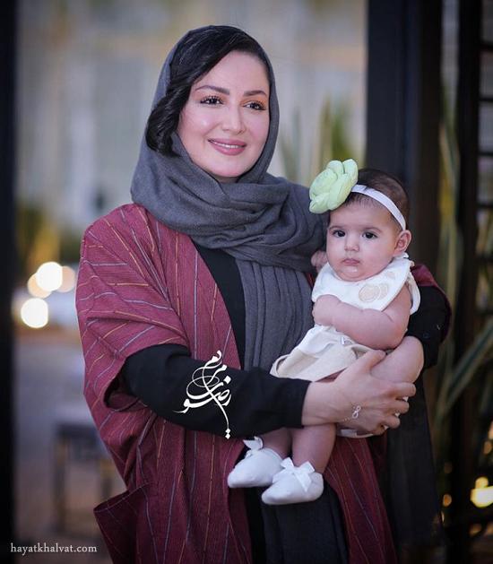 عکس جدید شیلا خداداد و دخترش