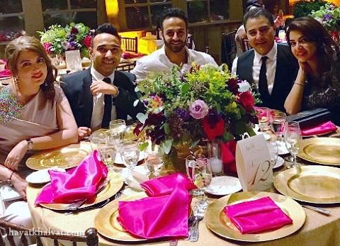 رها و سالومه در عروسی حامد نیک پی