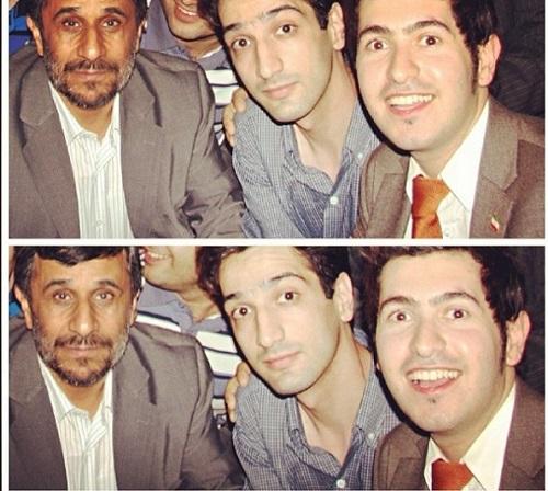 آرش استیلاف و احمدی نژاد